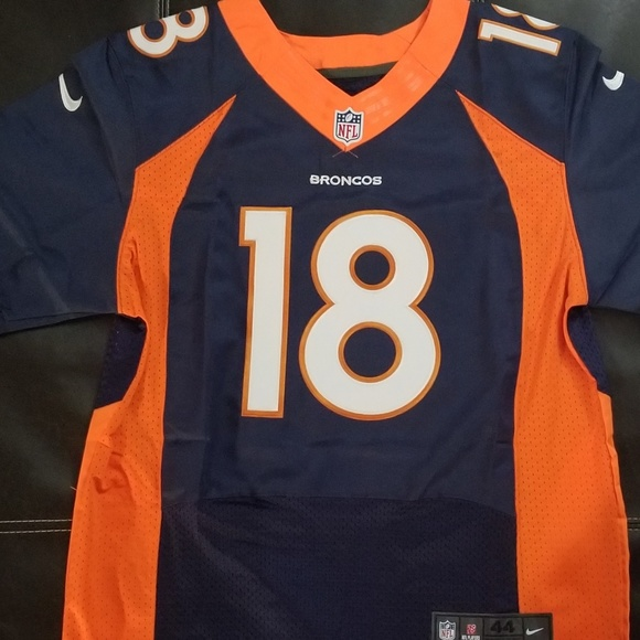 hot sales ab0f0 738e8 Men's Denver Broncos Peyton Manning Jersey Navy
